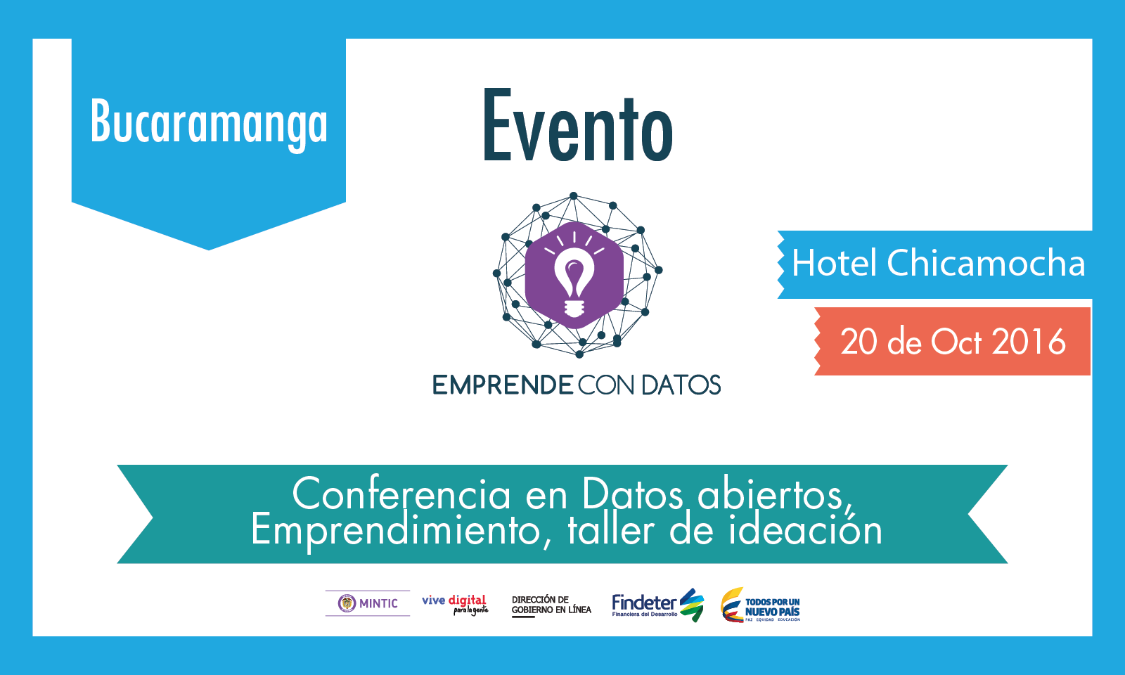 Convocatoria Emprende con datos